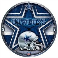 Dallas Cowboys Big 18 Inch Hi Definition Clock