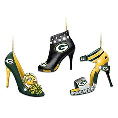 Here's a few more!   Green Bay Packers Steppin' Out Stiletto Ornament Collection