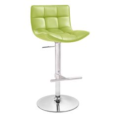 Brut Adjustable Height Swivel Armless Bar Stool | Zuri Furniture