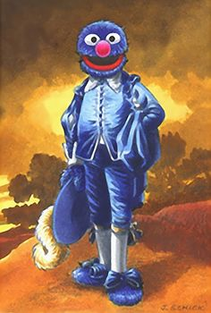 Gainsbourough - Blue Boy Parody - Grover is the Blue Boy now!