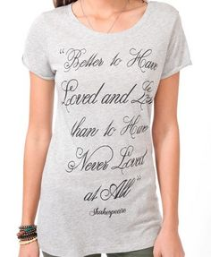 Better To Have Loved Tee | FOREVER 21 - 2043550400