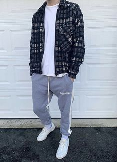 Flannel, Personal Style, Street Wear, Normcore, Mens Fashion, My Style, Fitness, How To Wear, Pants
