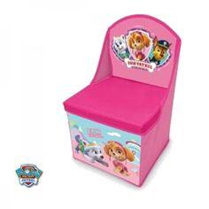 Floor Seat Storage Child Disney Paw Patrol Pat Patrouille Pink Stella for sale online Seat Storage, Storage Chest, Star Wars Shop, Floor Seating, Funko Pop Vinyl, Paw Patrol, Toy Chest, Frozen, Home And Garden