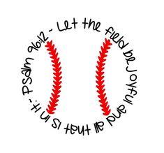 Psalm Baseball Digital File by loveandreecellc on Etsy Softball Crafts, Softball Bows, Softball Pitching, Softball Shirts, Fastpitch Softball, Baseball Girlfriend Shirts, Baseball Girls, Baseball Sister, Softball Cheers