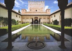 Patio de Comares o de los Arrayanes (La Alhambra) | Flickr - Photo Sharing!