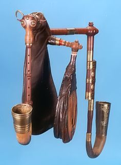Front view of Bohemian bagpipe. #music #instruments #bagpipes http://www.pinterest.com/TheHitman14/music-instruments/