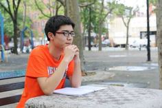 """My English is not good.  Spoken English is very difficult.  But I want to study at Columbia so I am trying to improve.  I decided to come to America because of Forrest Gump.  I've watched the movie five times.  I like Forrest very much.  Forrest is very simple.  He picks one thing, and he keeps going.  When I was young, I thought Forrest was stupid.  But now I have a different view.  I think people are too complicated.  They complain about everything.  Forrest never complains.  Forrest…"