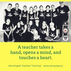 "ero Yoga International con Dominique Fragnaud y 5 personas  ""A teacher takes a hand, opens a mind, and touches a heart."" BECOME an AeroYoga® Teacher & help others grow! International Training! www.aeroyoga.es. 200 hr. Yoga Alliance Approved Contact by Whatsapp +34 680905699 MAIL aeroyoga@aeroyoga.info #aeroyoga #aeroyogaoficial #aeropilates #aeropilatesoficial #wellness#aeroyogastudio #aeroyogausa #aeroyogachile #puertorico🇵🇷 #aerialyoga#trapeze #aeropilatesmadrid #aeropilatesespaña…"