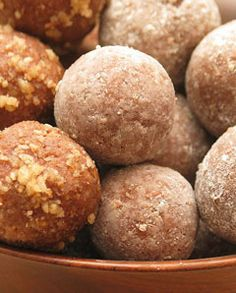 Rum Ball — the only holiday cookie for grown men. Boozy and sweet, and can be made without even turning on an oven.