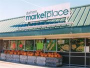 Love our local grocer (Durham Marketplace) with their commitment to local farms and businesses.