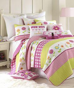 Love this Kinsey Quilt Set by Levtex Home on #zulily! #zulilyfinds