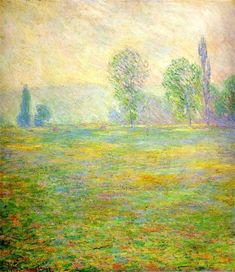 Meadows in Giverny 1888 Claude Monet