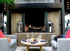 Ram's Gate WInery | Fireplace | Sonoma, CA | aka the Restoration Hardware of Napa Valley Wineries www.eddie-hernandez.com