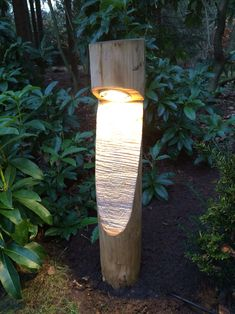 Luz con palo