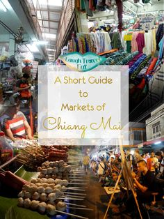 There's nothing I love more in this world that markets, and Chiang Mai is full of markets. There's just something about the arrays of dizzying stalls stacked with goods of all kinds that sends my heart pounding and feet racing; but I am getting ahead of myself. Let's get back to the topic at hand: markets in Chiang Mai. Most famous for its Night Market and Sunday Night Market, I tried to hit as many as I can during our four day stay – and wasn't disappointed with the 3 I went to.