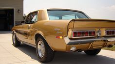 1968 FORD MUSTANG CALIFORNIA SPECIAL  347/300 HP, Automatic