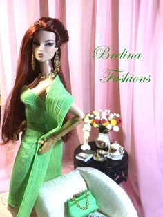 """Spring Bouquet"" Spring Bouquet, Have A Great Day, Fashion Dolls, Barbie Dolls, My Design, Royalty, My Style, Model, Friends"