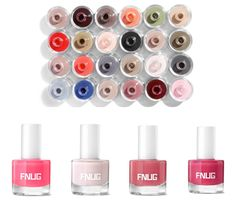 Fnug Nail varnishes, summer nails, summer colours, nail polish Shop at Wild Swans Summer Colours, Varnishes, Swans, Summer Nails, Nespresso, Nail Polish, Shop, Beauty, Summer Colors