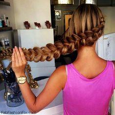 Hair: Dutch Braid Hairstyle Tutorial