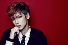 Youngmin- I think him and Minwoo have the best looks in the Witch MV. Jeongmin, Donghyun & Hyunseong have to much makeup on & I realy would like to ask but what the *beep* is up with Jeongmin's hair in the concepts for Witch Boyfriend Band, Boyfriend Kpop, Boyfriend Memes, Youngmin Boyfriend, Jo Youngmin, Writing Pictures, Drama, Korean K Pop, How To Have Twins