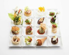Gourmet Appetizers, Mini Appetizers, Appetizer Plates, Food Design, Cheesecake Recipes, Dessert Recipes, Canapes Recipes, Molecular Gastronomy, Culinary Arts