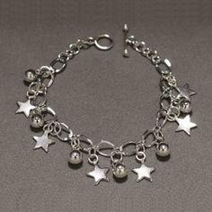 Pulsera de plata. Joyería de moda, bracelet in sterling silver