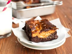 Not sure what to cook on Christmas? 60 Dishes to help you decide — Kamo - chocolate and peanut butter brownies