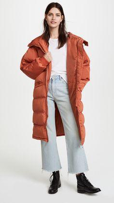 364516575d54c Free People Long Raglan Puffer Раздутые Куртки, Зимние Куртки, Одежда Free  People, Модные