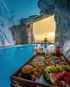 Vacation Places, Dream Vacations, Vacation Spots, Places To Travel, Places To Go, Travel Destinations, Vacation Deals, Mykonos Greece, Santorini