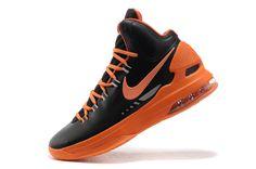 buy popular c9075 140d3 kevin durant shoes 2013 Nike KD V Black Total Orange Team Orange Strata  Grey 554988 006