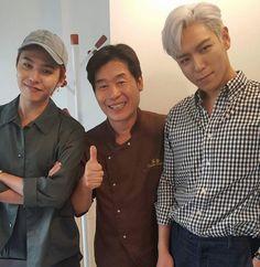 G-DRAGON & T.O.P - イ・ヨンボク(シェフ)Facebook 写真 BIGBANG(ビッグバン)G-DRAGON(クォン・ジヨン)、T.O.P(チェ・スンヒョン) LEE Yeon-bok(chef)'s Facebok Photo