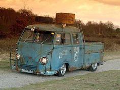 double cab van