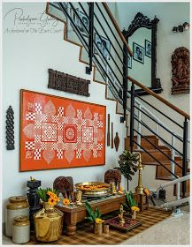 the east coast desi: Of old things and New (Home Tour) - Indian living rooms - Indian Living Rooms Indian Room Decor, Ethnic Home Decor, Indian Bedroom, Indian Home Interior, Indian Interiors, Home Room Design, Home Interior Design, Indian Inspired Decor, Style Indien