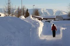 Dalvík N-Iceland - after last weekends snowstorm..... :/  Before that. i dont think that any snow was on the ground....
