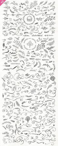 Handsketched Designer's Branding Kit by Nicky Laatz: