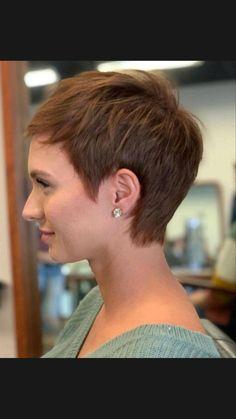 Chic Short Hair, Short Thin Hair, Short Hair With Layers, Short Hair Cuts For Women Pixie, Pixie Cuts, Short Pixie Haircuts, Pixie Hairstyles, Bride Hair Down, Gothic Hairstyles