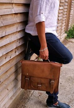 Inspired from iconic school leather satchel, this is a perfectly hand crafted…