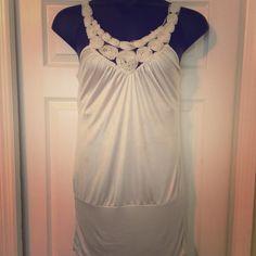 Classy Sliver sparkle Mini Dress 24in length Classy sliver sparkle Mini Dress 24in length Yoyo5 Dresses Mini