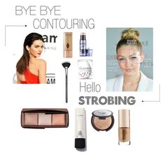 """""""Strobing (read description)"""" by sparksofcalista ❤ liked on Polyvore featuring beauty, MAC Cosmetics, Becca, Josie Maran, Hourglass Cosmetics, beautyblender, Charlotte Tilbury and Benefit"""