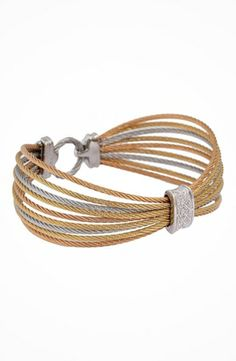 Charriol Bracelet - Modern Cable Mix 04-36-S944-11 #accessories #jewelry #bracelets https://www.heeyy.com/charriol-bracelet-modern-cable-mix-04-36-s944-11-multi/