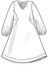 Veluurimekko ekopuuvillaa/polyesteriä – Mekot & hameet – GUDRUN SJÖDÉN - vaatteita verkossa ja postimyynnissä
