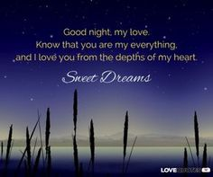 Marvelous Good Night Messages For My Love