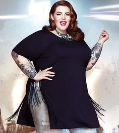 Rockstar looks in the new Tess Holliday Collection!
