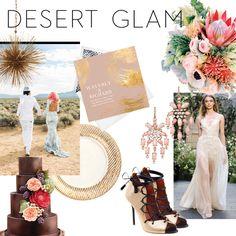 A Desert Glam Wedding Theme, Curated by Design Expert Kelly Wearstler | Brides.com