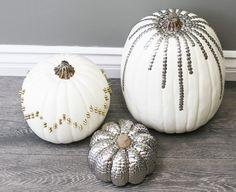 Thumb Tack Pumpkins!! What a killer idea!  :)