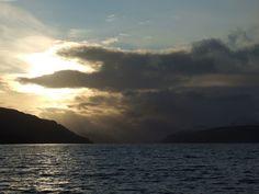 Winter Sunset On Loch Ness