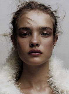 Natalia Vodianova photographed by Jean-Baptiste Mondino for Numéro 2002