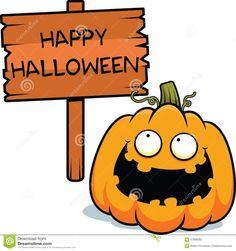 cartoon-pumpkin-happy-halloween-illustration-sign-57698282.jpg (1300×1383)