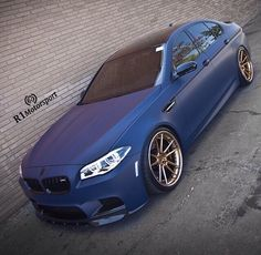 Love love love the matte blue on these cars