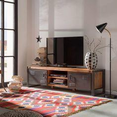 Tv Meubel 180 Cm Breed.Urban Industrial Decor To A Stunning Place Loft Design Urban